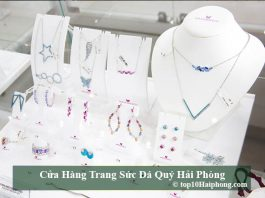 Cửa hàng trang sức đá quý Hải Phòng